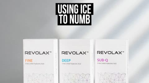 Using Ice to Numb